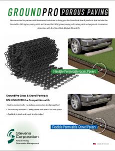 GroundPro Porous Paving Brochure