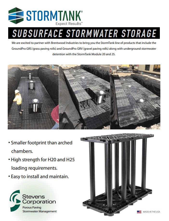 StormTank Product Brochure Download
